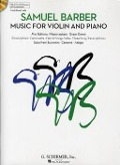 Bekijk details van Music for violin and piano