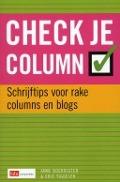 Bekijk details van Check je column
