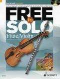 Bekijk details van Free to solo; Flute/Violin