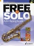Bekijk details van Free to solo; Alto saxophone