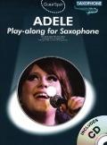 Bekijk details van Adele; Playalong for saxofoon