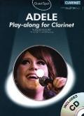 Bekijk details van Adele; Playalong for clarinet