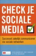 Bekijk details van Check je sociale media