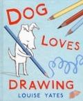 Bekijk details van Dog loves drawing