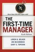Bekijk details van The first-time manager