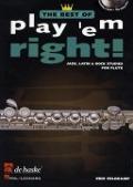 Bekijk details van Play 'em right!; best of; Jazz, latin & rock studies; Flute