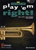 Bekijk details van Play 'em right!; best of; Jazz, latin & rock studies; Trumpet