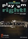 Bekijk details van Play 'em right!; best of; Jazz, latin & rock studies; Clarinet