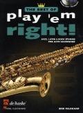Bekijk details van Play 'em right!; best of; Jazz, latin & rock studies; Alto saxophone