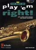 Bekijk details van Play 'em right!; best of; Jazz, latin & rock studies; Tenor saxophone