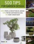 Bekijk details van 500 tips for garden design