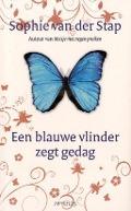 Bekijk details van Een blauwe vlinder zegt gedag