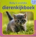 Bekijk details van Baby's vrolijke dierenkijkboek