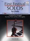 Bekijk details van First festival solos; Violin