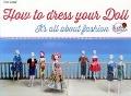 Bekijk details van How to dress your doll