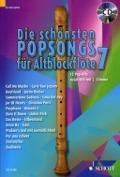 Bekijk details van Die schönsten Popsongs für Altblockflöte; 7