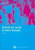 Bekijk details van Ethiek en recht in kort bestek