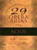 Bekijk details van 29 arias for altos