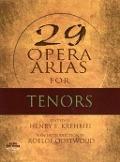 Bekijk details van 29 arias for tenors