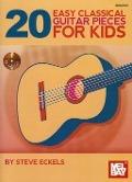 Bekijk details van 20 easy classical guitar pieces for kids