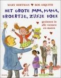 Bekijk details van Het grote papa, mama, broertje, zusje boek