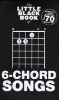 Bekijk details van The little black book of 6-chord songs