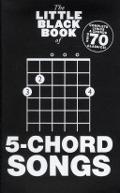 Bekijk details van The little black book of 5-chord songs