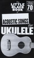 Bekijk details van The little black book of acoustic songs for ukulele