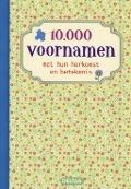 Bekijk details van 10.000 voornamen met hun herkomst en betekenis