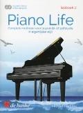 Bekijk details van Piano life; Lesboek 2