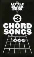 Bekijk details van The little black book of 3 chord songs