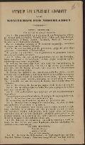 Bekijk details van Ontwerp van gewijzigde grondwet van het Koningrijk der Nederlanden