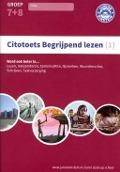 Bekijk details van Citotoets begrijpend lezen; (1)