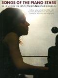 Bekijk details van Songs of the piano stars