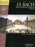 Bekijk details van First lessons in Bach