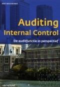 Bekijk details van Auditing internal control