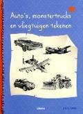 Bekijk details van Auto's, monstertrucks en vliegtuigen tekenen