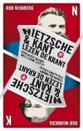 Bekijk details van Nietzsche & Kant lezen de krant