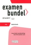 Bekijk details van Examenbundel vwo Nederlands; 2016/2017