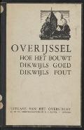 Bekijk details van Overijssel, hoe het bouwt, dikwijls goed, dikwijls fout