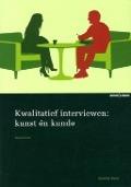 Bekijk details van Kwalitatief interviewen: kunst én kunde