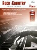 Bekijk details van Rock & country masters for piano