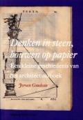 Bekijk details van Denken in steen, bouwen op papier