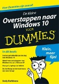 Bekijk details van De kleine overstappen naar Windows 10 voor dummies®