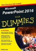 Bekijk details van Microsoft PowerPoint 2016 voor dummies