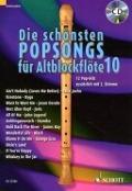 Bekijk details van Die schönsten Popsongs für Altblockflöte; 10