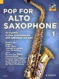 Bekijk details van Pop for alto saxophone; 1