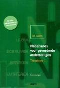 Bekijk details van Nederlands voor gevorderde anderstaligen; Tekstboek 1
