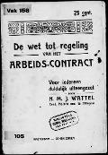 Bekijk details van Het arbeids-contract, practisch geschetst