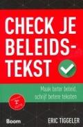 Bekijk details van Check je beleidstekst